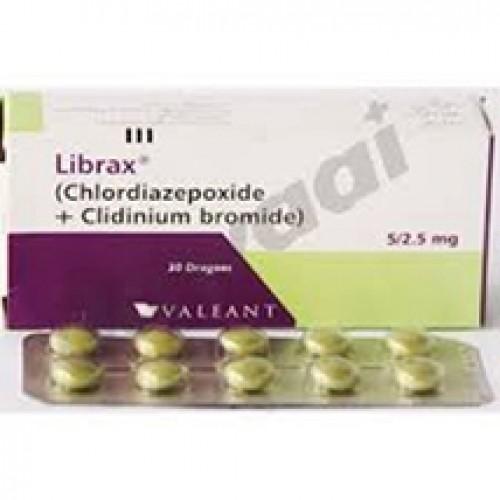 Librax (Chlordiazepoxide+Clidinium) 5/2.5mg