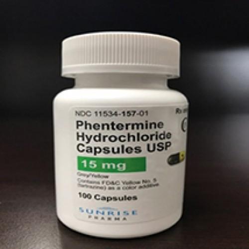 Phentermine Capsules 15mg
